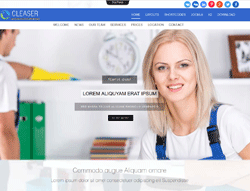 Cleaning Services Joomla! Template - Ol Cleaser