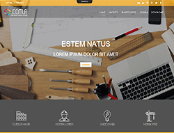 Construction  Joomla Template - Mx_joomla165