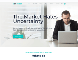 Financial Joomla Template - ET Invest