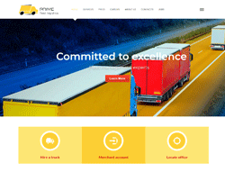 Logistics Joomla Template - PT Fleet