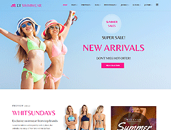 eCommerce Joomla! Template - ET Swimwear