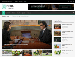 Magazine WordPress Theme - Mega Magazine