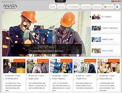 Industrial Joomla Template - TD Anata