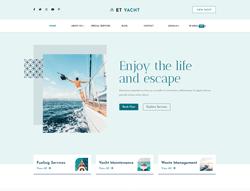 Responsive Yacht Joomla Template - ET Yacht