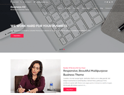 Business WordPress Theme - Business Kit