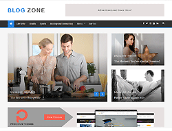 Blog WordPress Theme - Blog Zone
