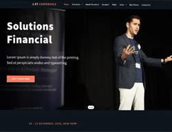 Business Joomla Template - ET Conference