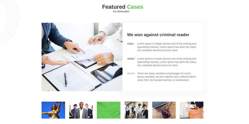 Major Cases Lawyer Joomla Template