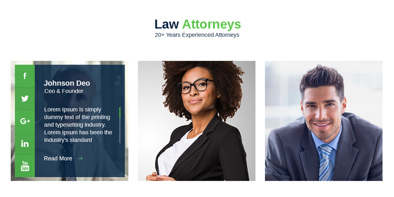 Showcase Lawyer Joomla Template