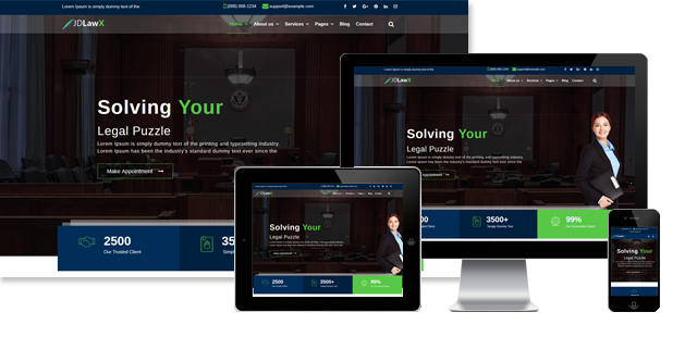 JD LAWX - FREE AND PREMIUM LAWYER JOOMLA! TEMPLATE