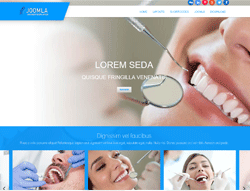 Dental Joomla Template - Mx_joomla167