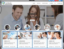 Business Joomla Template - Ol Loeze