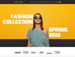 eCommerce Joomla Template - ET Fashion