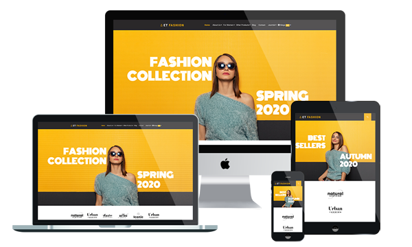 ET FASHION - FREE AND PREMIUM ECOMMERCE JOOMLA! TEMPLATE