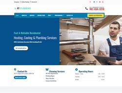 Handyman Joomla Template - ET Plumbing