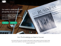 Bootstrap HTML Template - Small Business