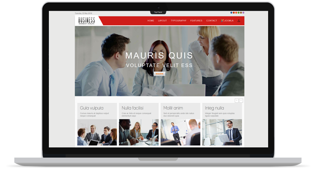 TD BUSINESS - FREE BUSINESS JOOMLA TEMPLATE