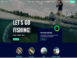 Fishing Joomla Template - ET Fishing