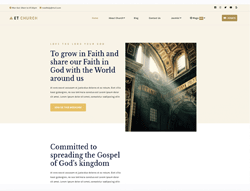 Church Joomla Template - ET Church
