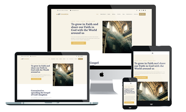ET CHURCH - FREE AND PREMIUM CHURCH JOOMLA! TEMPLATE