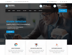 Business Wordpress Theme - Bestro