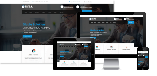 BESTRO - BUSINESS WORDPRESS THEME