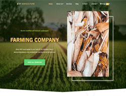 Agriculture Joomla Template - ET Agriculture
