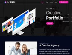 Multipurpose OnePage Joomla Template - JD BizX