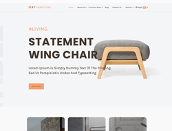 Furniture eShop Joomla Template - ET Furniture