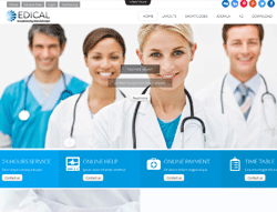 Medical Joomla Template - Ol Edical