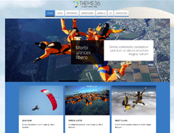 Skydiving Joomla Template - TC Theme36