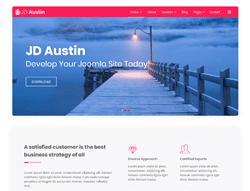 Multipurpose Joomla Template - JD Austin