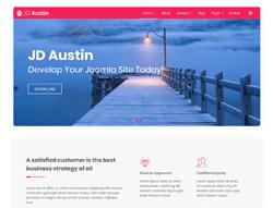 Multipurpose Joomla Template - JD Austin