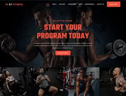 Sport Joomla Template - ET Fitness