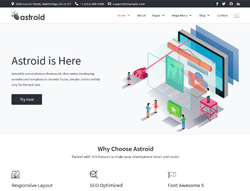Joomla Template and Framework - JD Astroid