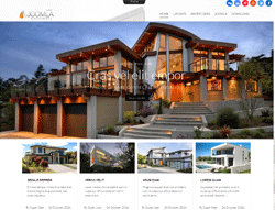 Architecture Joomla Template - Mx_joomla171