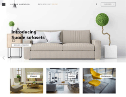 Furniture Joomla Template - PT Lander
