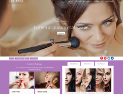 Beauty Salon Joomla Template - Ol Cotefo