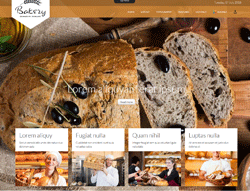 Food Joomla Template - TD Bakery