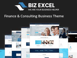Business Wordpress Theme - Biz Excel