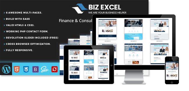 BIZ EXCEL - BUSINESS WORDPRES THEME
