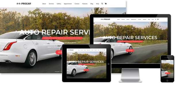 PROCAR - AUTO REPAIR WORDPRESS THEME