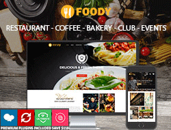 Restaurant Wordpress Theme - Foody