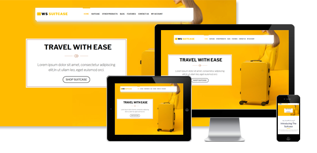 WS SUITECASE - TRAVEL BAG WOOCOMMERCE WORDPRESS THEME