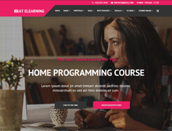 Education Joomla Template - AT Elearning