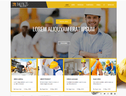 Construction Joomla Template - TC Theme35 Free