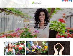 Gardening Joomla Template - Mx_joomla172