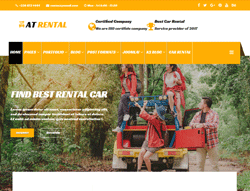 Car Rental Joomla Template - AT Rental