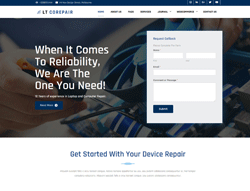 Computer Repair Joomla Template - LT CoRepair