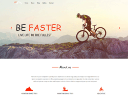 Top Website Template - Trekking